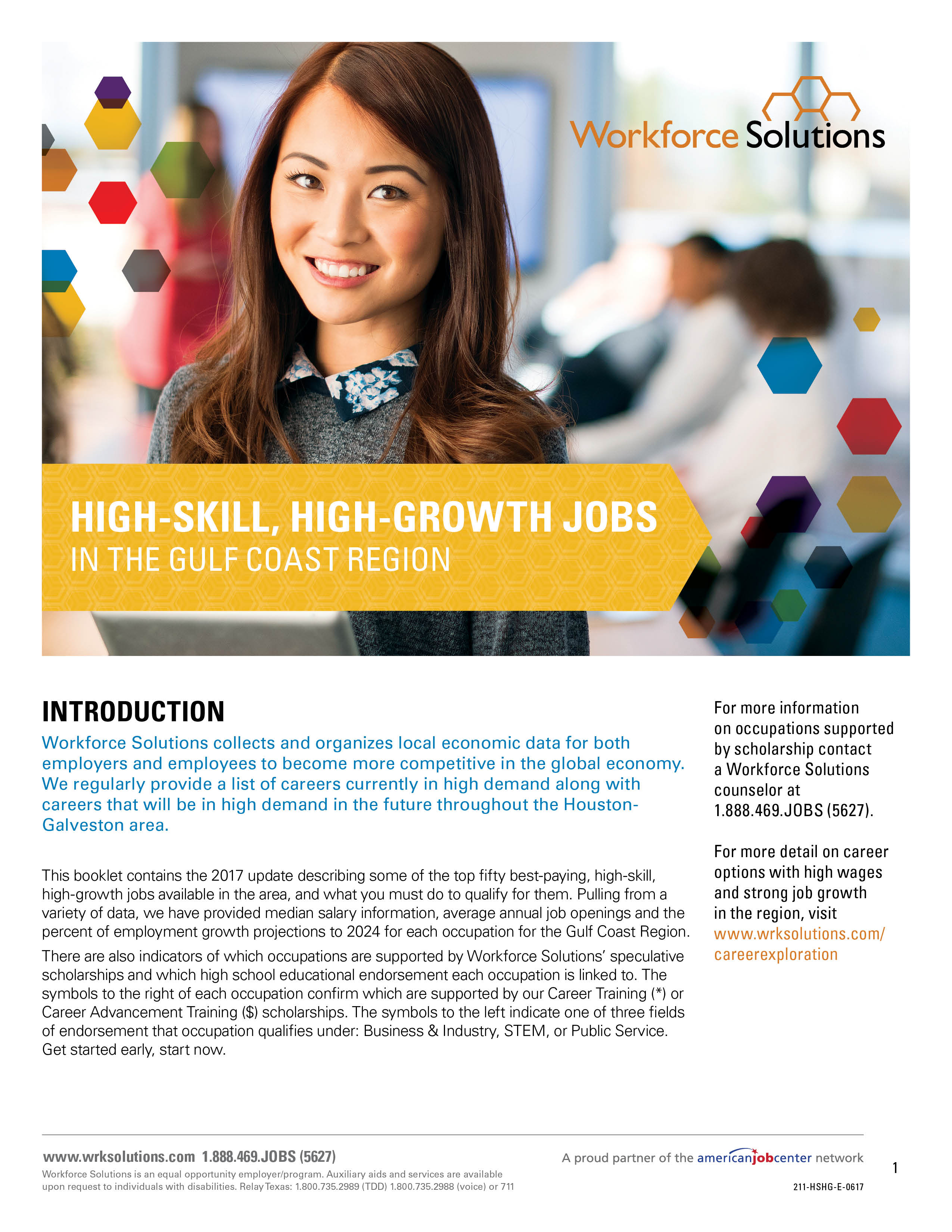 Tapa de revista High Skill, High Growth